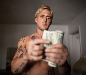I could be like Ryan Gosling in The Place Beyond the Pines.  And Only God Forgives. And Drive.  photo credit: http://collider.com